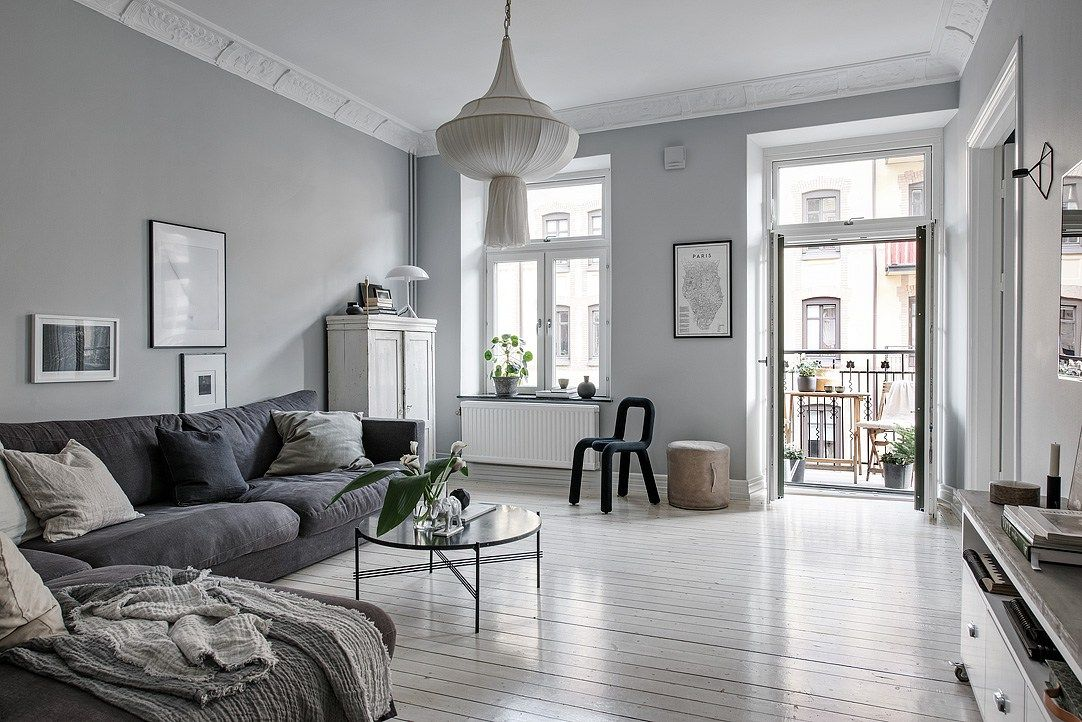 99 Beautiful White And Grey Living Room Interior: House Decoration & Other