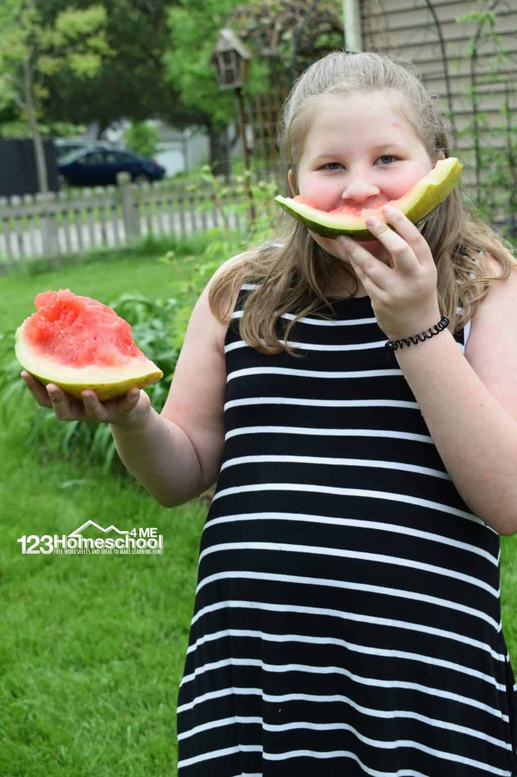 Exploding Watermelon Science Cool Science Experiments Science Experiments Kids Watermelon [ 1537 x 1024 Pixel ]