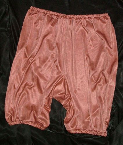 Details About Vintage Style Copper Silky Directoire Knickers
