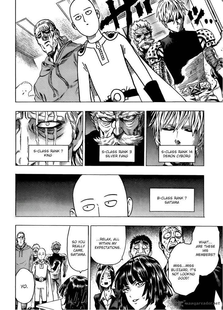 118 punch man mangafreak one One Punch