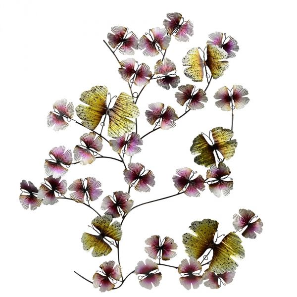 Metal Wall Art Flowers home :: metal wall art :: flowers, leaves & trees :: set 4 flower