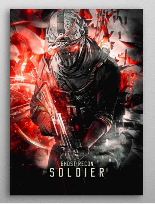 "Ghost Recon Soldier poster #Displate explore Pinterest""> #Displate #RedBubble explore Pinterest""> #RedBubble #WallArt explore… 