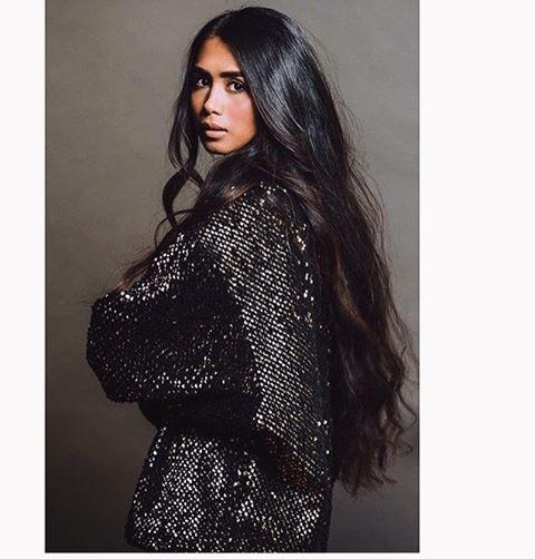 HAIR for days! (Gorgeous vegan model & activist Char San Pedro)