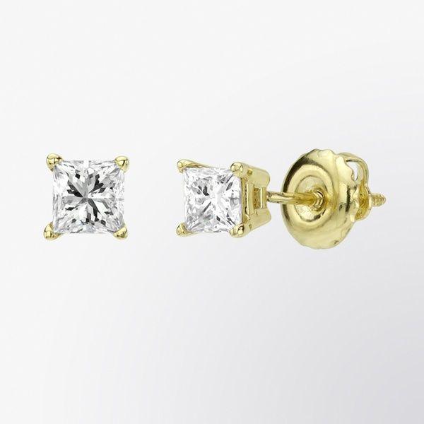 Diamond stud earrings #fifthbond
