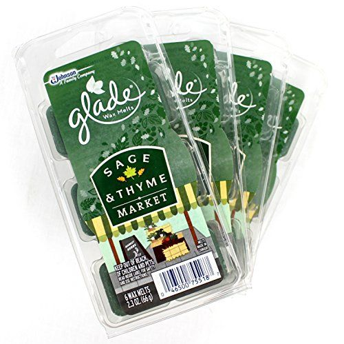4 X Glade Wax Melts Sage  Thyme Market *** More info could be found at the image url.