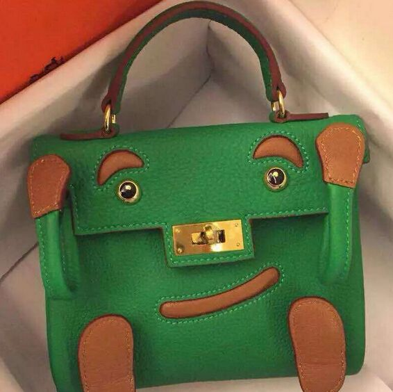 Christmas gifts!Hermes Original Togo Leather Quelle Idole Kelly Doll ... aad6ae70daa62