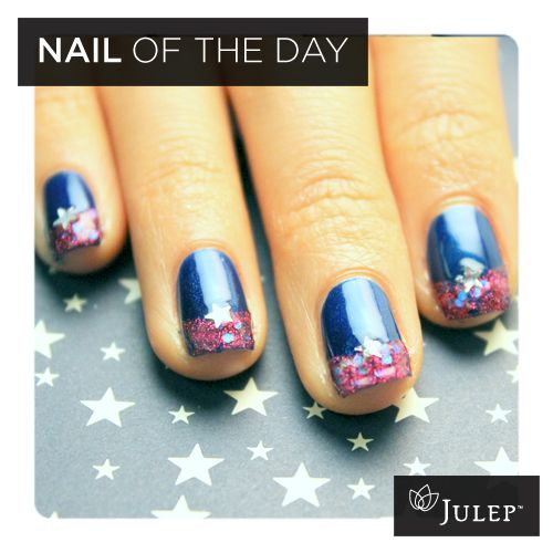 I am getting this nail polish in my July Julep Maven box, and I will be doing this manicure