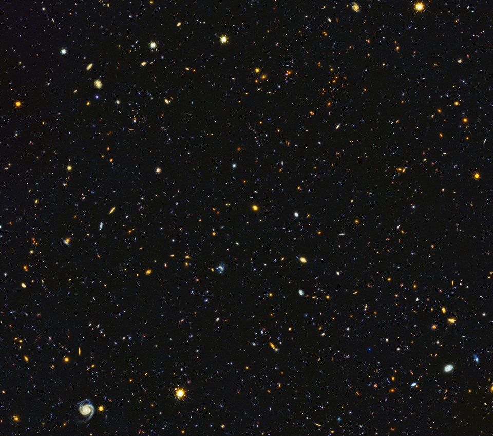 Hubble Image Featuring Over 15 000 Galaxies Actual Full Size