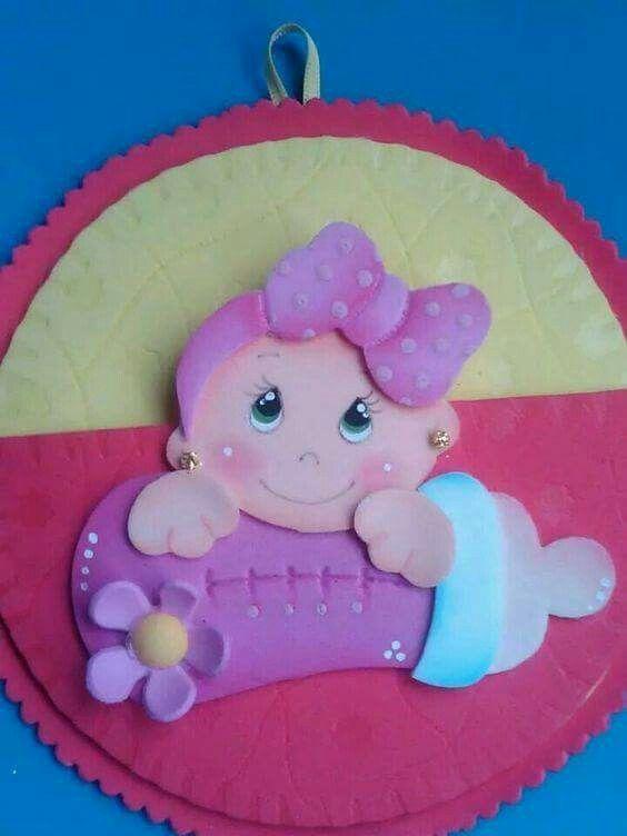 Pin De Paula Monroy En Bebes Pinterest Goma Eva Gomitas Y - Bebe-de-goma-eva