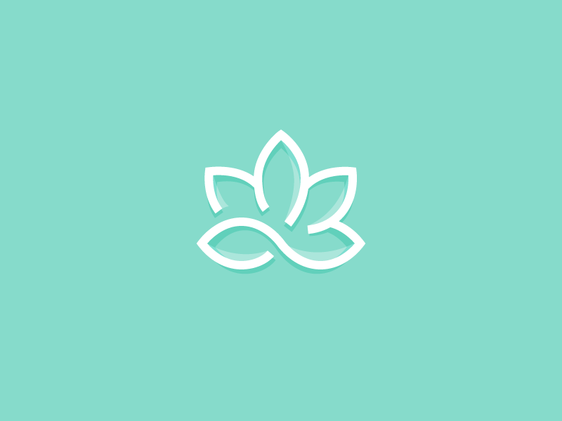 lotus flower trinity knot mind body spirit and lotus flower