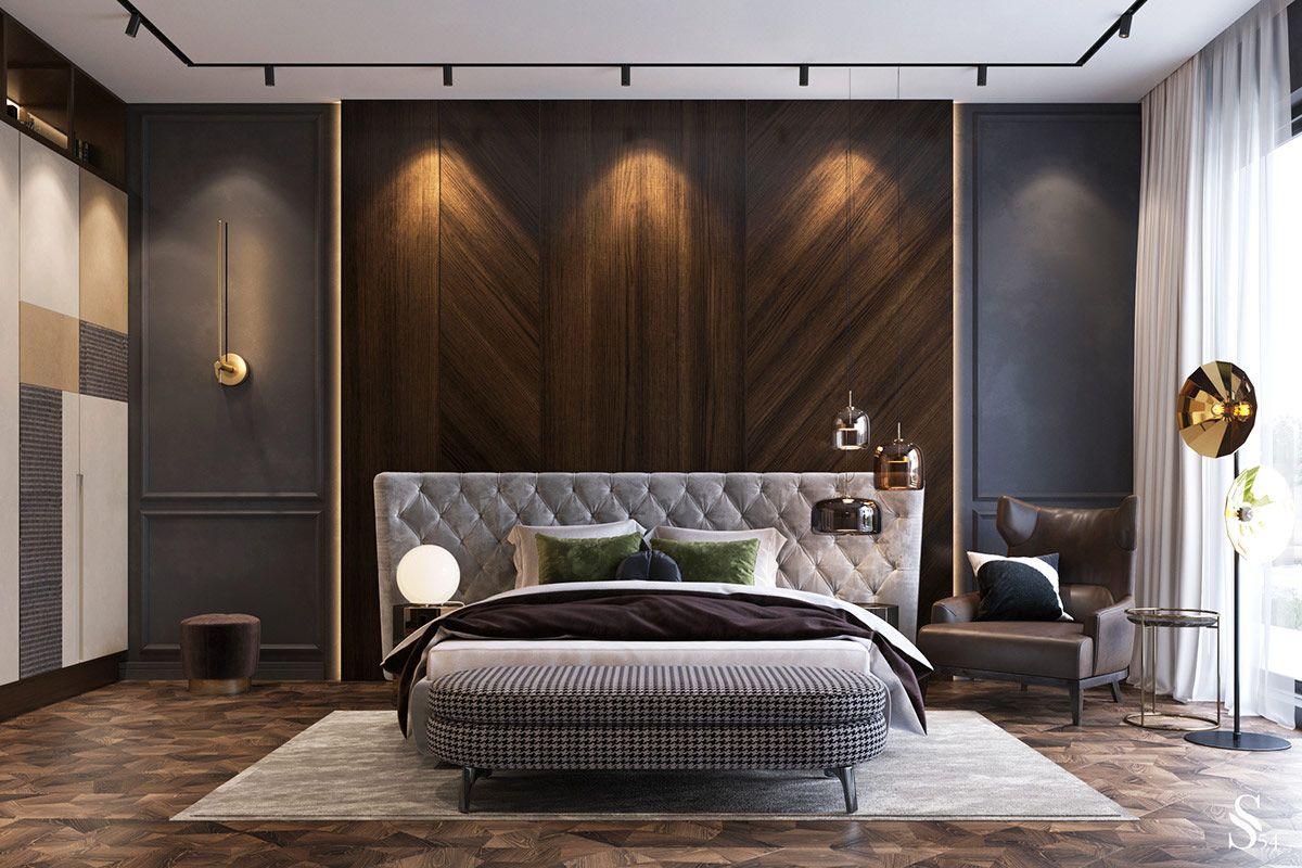 Luxury Modern Style Modern Bedroom Interior Design Homyracks