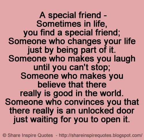 find a friend for life