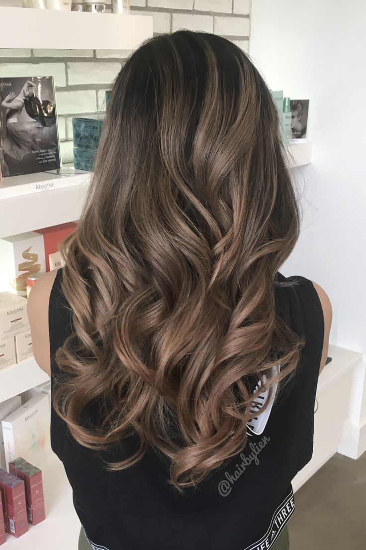 Asian balayage ombré. in 2019