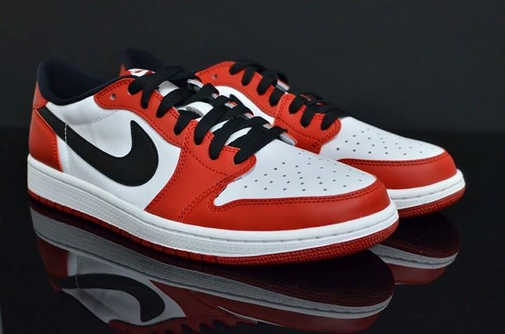 Are you a fan of these low top Jordan s  Nike Air Jordan 1 Low Chicago cf478412c8