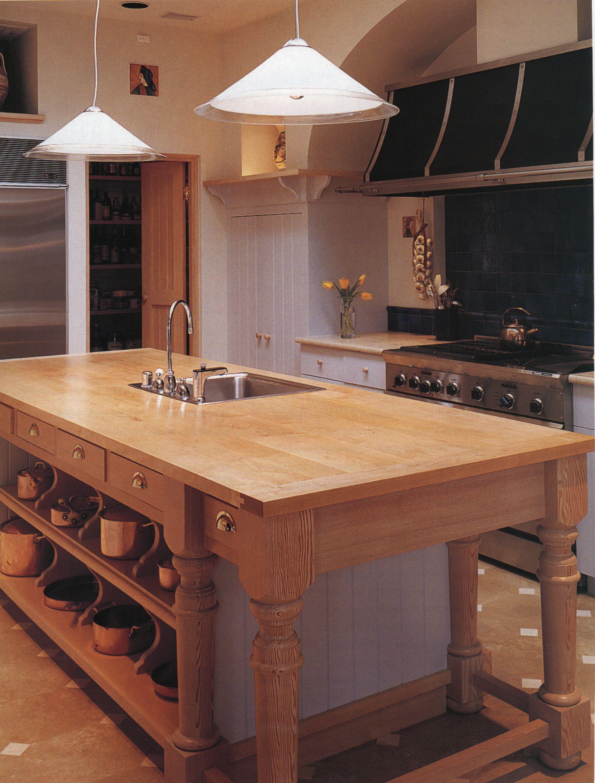 Open island kitchen island legs