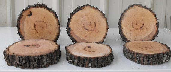10 Beautiful 4 5 Inch Wood Slices Table Center By Ozarkcraftwood