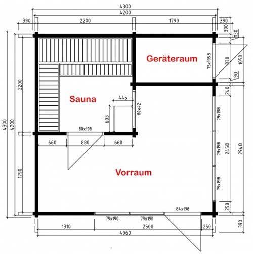 Alles In Einem: Gartenhaus, Sauna Und Gerätehaus