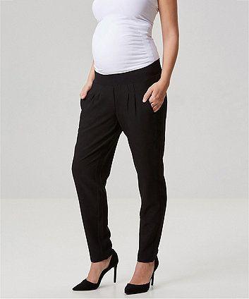 ebd1eeefe7c Mamalicious Black Maternity Trousers