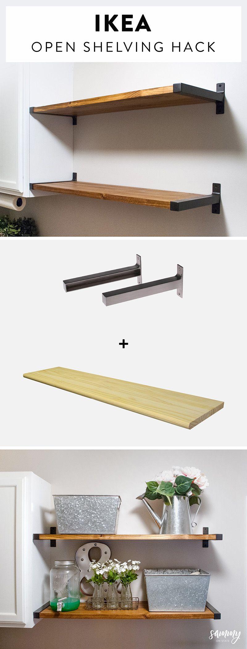 Head Turning Farmhouse Kitchen IKEA Hacks - The Cottage Market