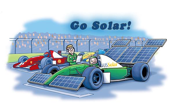 Happy Cartoon Friday from US Solar!!!
