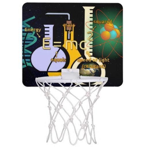 Physics is Cool Mini Basketball Backboard