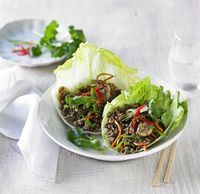 This beef san choy bow recipe packs a flavour punch, is simple to make and will have the kids excited that they can use their hands to eat it!!
