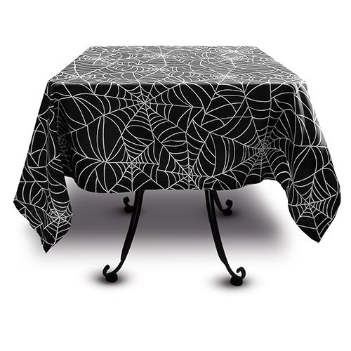 Spider Web Table Cloth From Sin In Linen. Http://www.sininlinen.com/sale/ Spiderweb Tablecloth.html Make With Plastic And White Marker