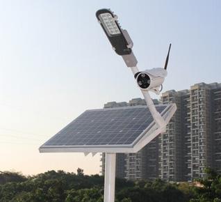 Solar Powered Wireless Outdoor Led Street Light Ip Camera Solar Street Light Solar Power