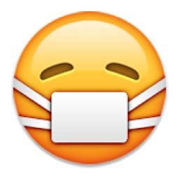 Face With Medical Mask Emoji U 1f637 U E40c Sick Emoji Funny Emoji Faces Emoji