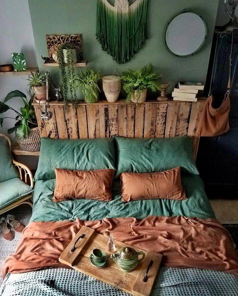 Photo of Bohemsk soverom og sengetøy Design #bohemianbedroom