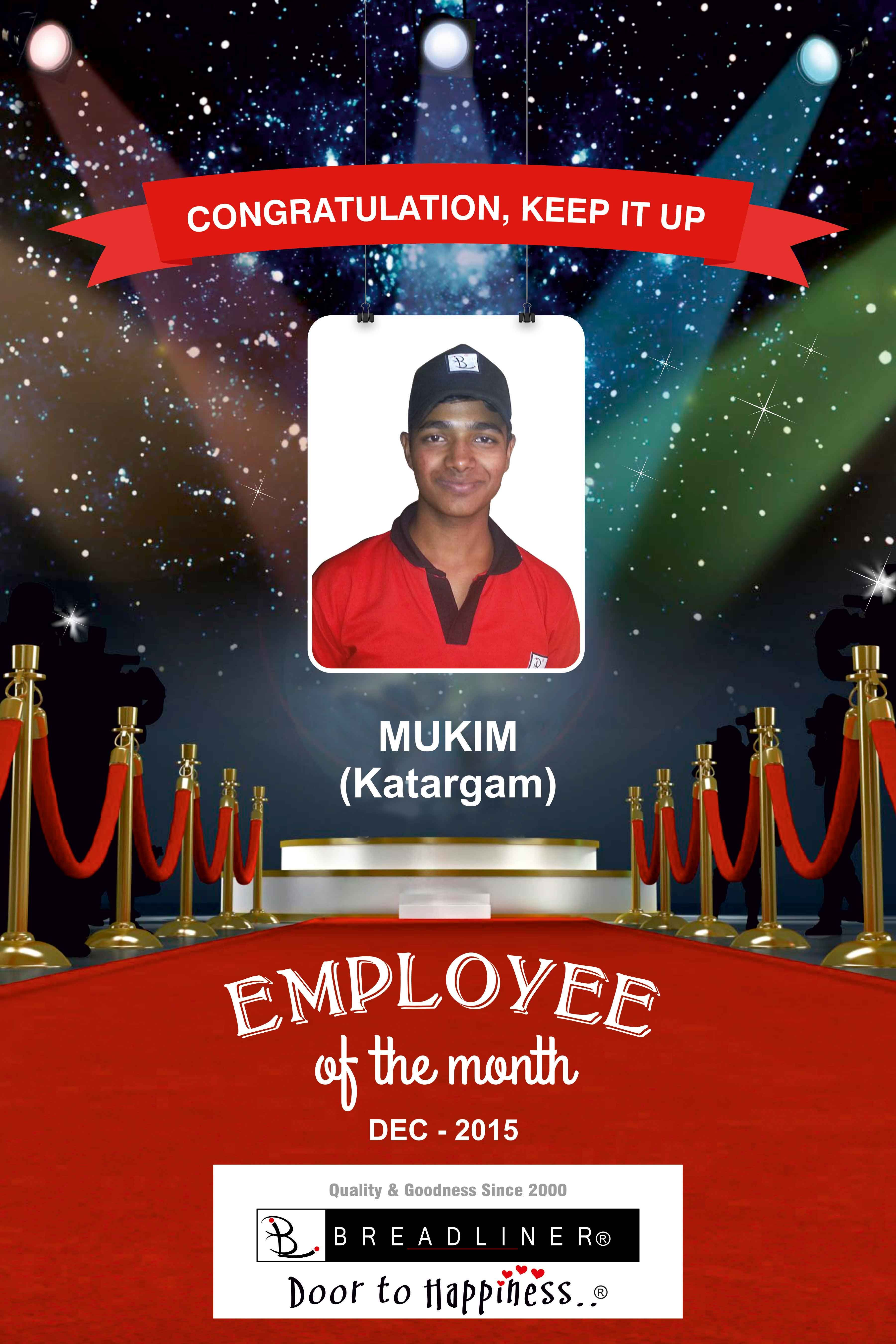 employee of the month | corporate design | employee appreciation