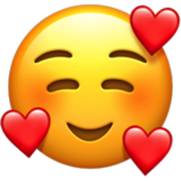 The Smiling Face With 3 Hearts Emoji On Iemoji Com In 2020 Heart Emoji Emoji Wallpaper Iphone Emoji