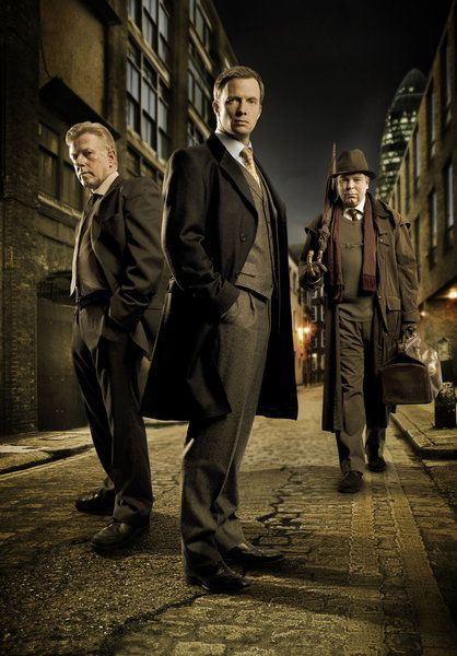 White chapel: A fast-tracked inspector, a hardened detective sergeant, and an expert in historical homicides investigate modern crimes with connections to the past in the Whitechapel district of London.