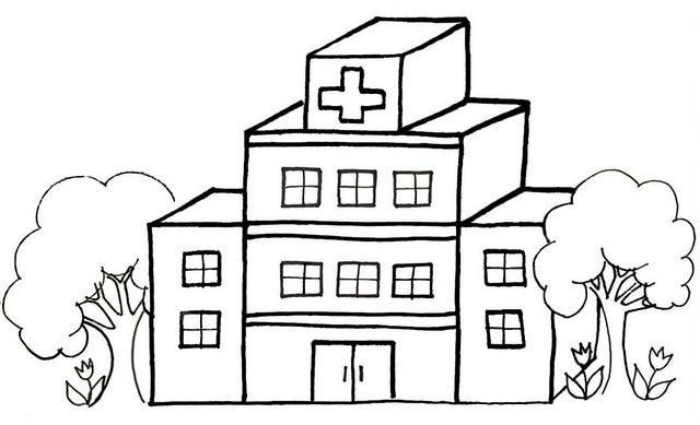 Read moreHospital Cartoon Coloring Page   Cartoon coloring ...