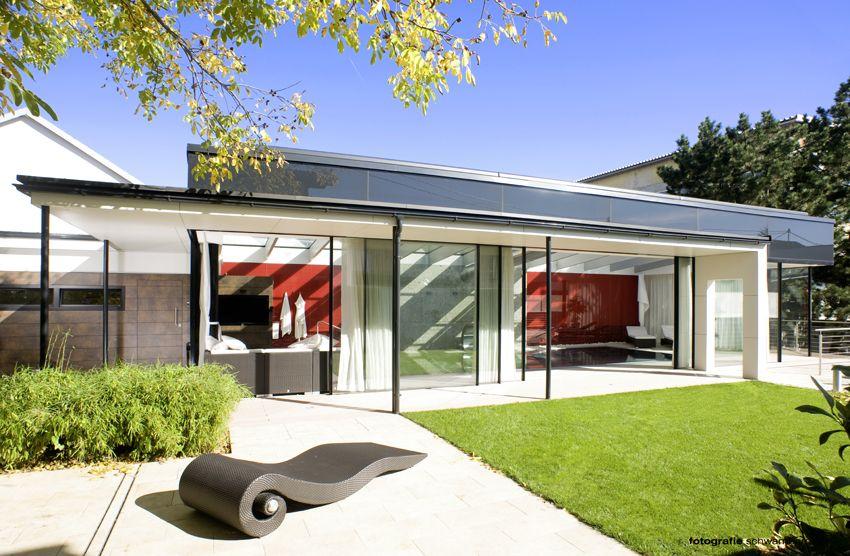 Glasshouse® als overdekking zwembad, design veranda, moderne veranda ...