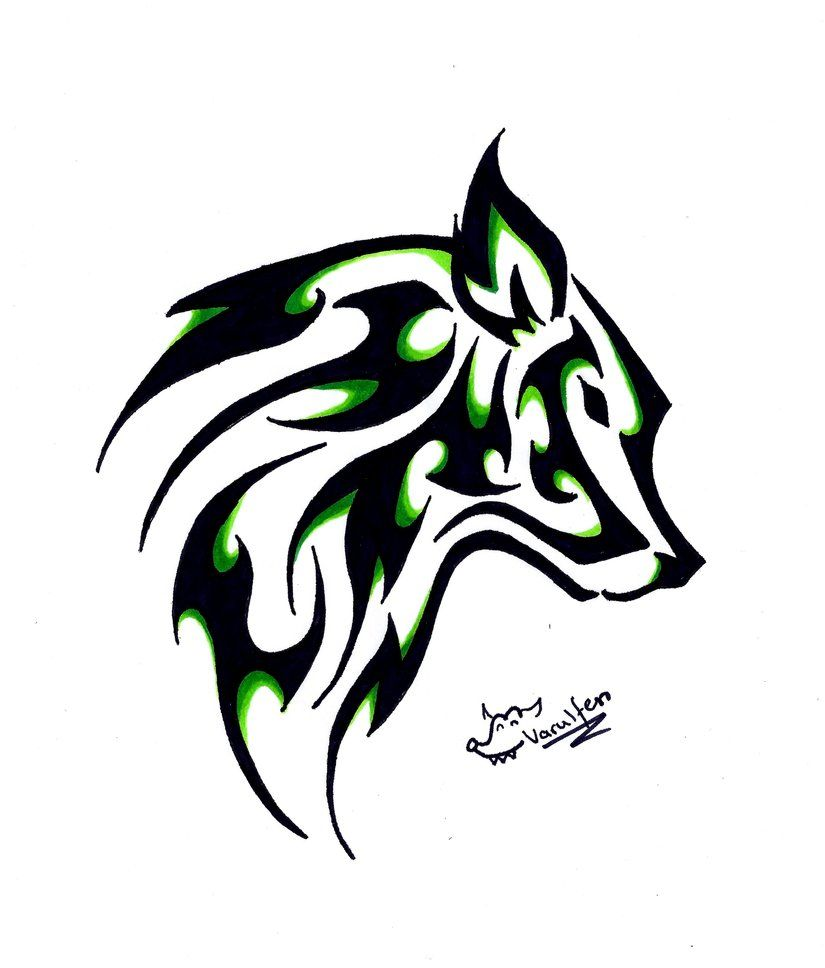 tattoos wolves wolf tattoo by germanvarulfen on deviantart tattoos pinterest zeichnen. Black Bedroom Furniture Sets. Home Design Ideas