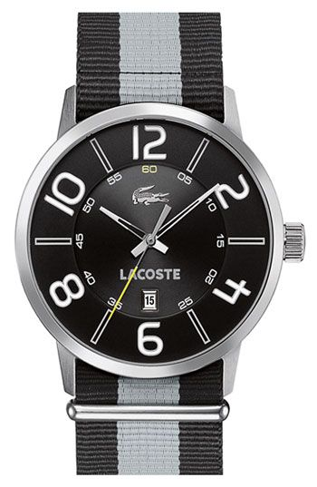 Lacoste  Barcelona  Fabric Strap Watch available at  Nordstrom ... ec49c2ef6a