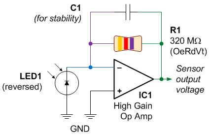Color #Sensor Circuit Diagram #ECE #EEE (With images