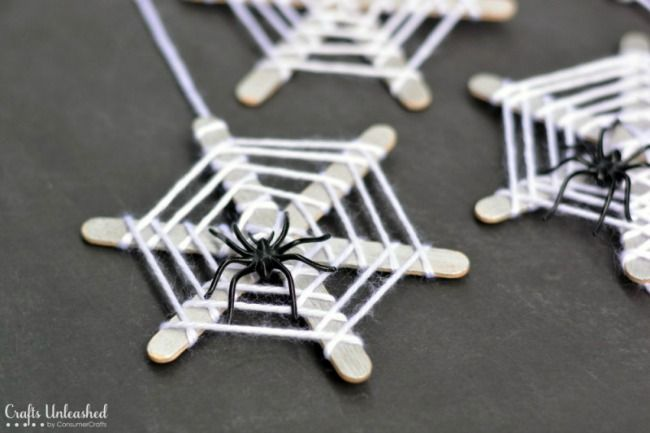 The 11 Best Halloween Crafts for Kids DIY Halloween, Craft sticks - halloween decorations to make at home for kids