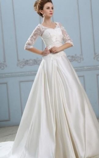 Wedding dresses for the larger lady - http://fashion-wedding ...