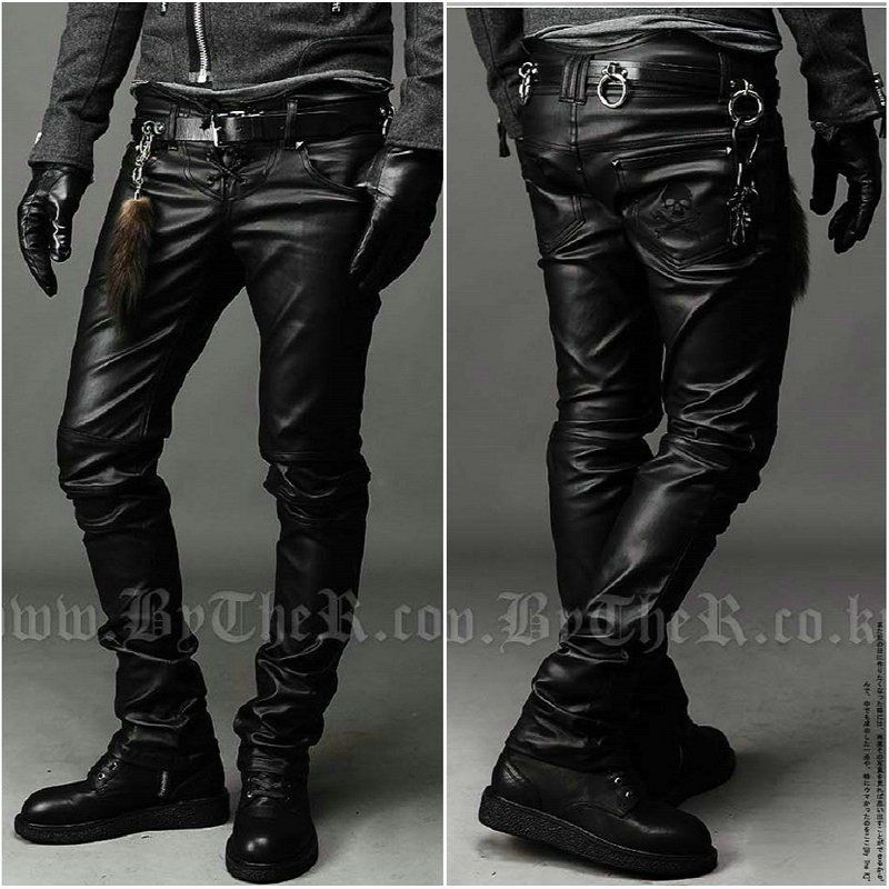 Men's Leather Pants and Jeans by Jamin Leather. Our wide selection of genuine leather pants for men. With lots of styles to chose from including western and biker .