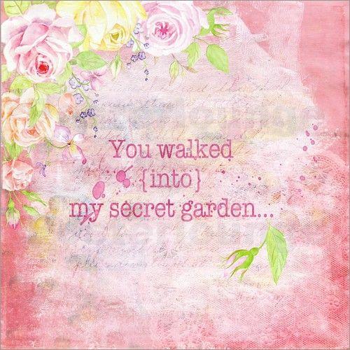 UtArt Illustrationen - You walked into my secret garden