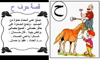 بطاقات قصص الحروف موقع الصف الاول ج Arabic Alphabet For Kids Arabic Kids Arabic Alphabet