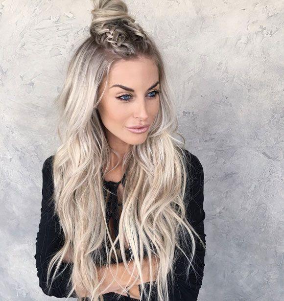 Boho Half Up By Chrissy Hairstyle Hair Long Hair