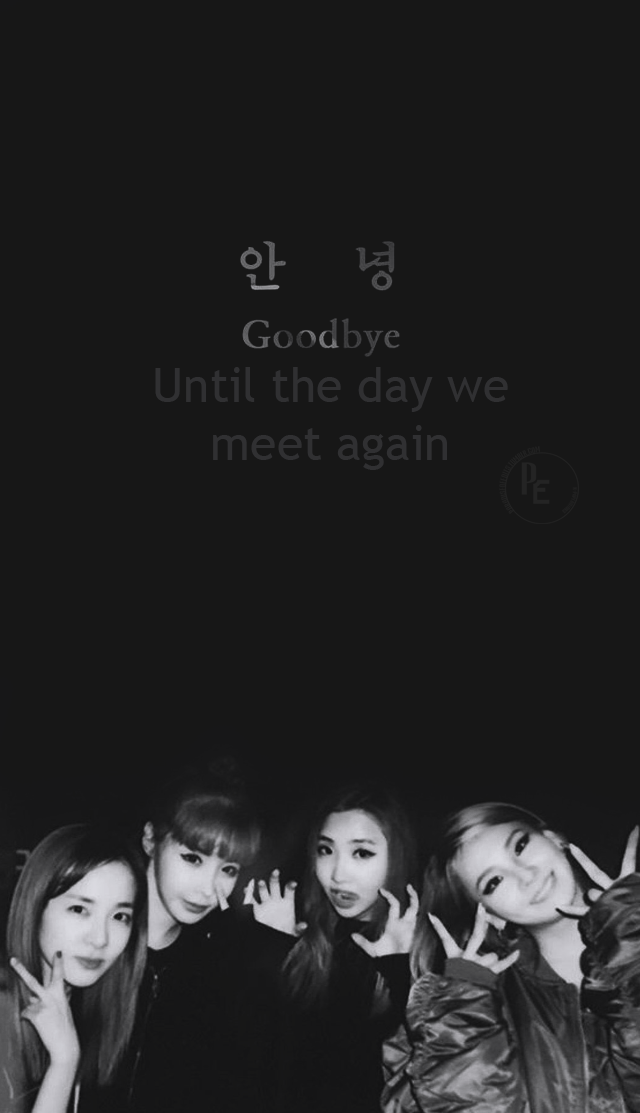 I Miss Them Wallpapers 2ne1 Kpop Wallpaper
