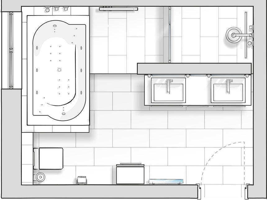 Planung   Badezimmer, Baden, Zimmer