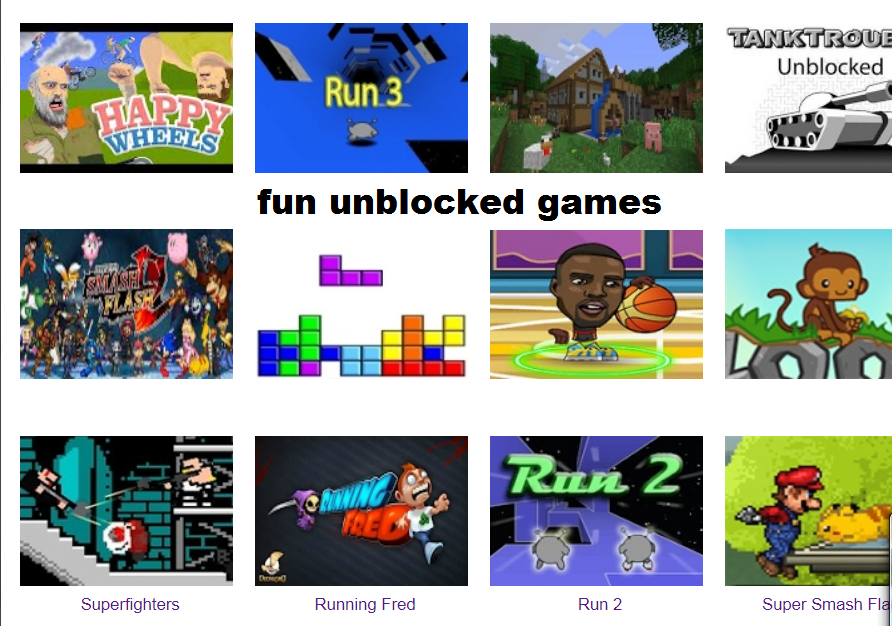 Pin na Best Fun Unblocked Games