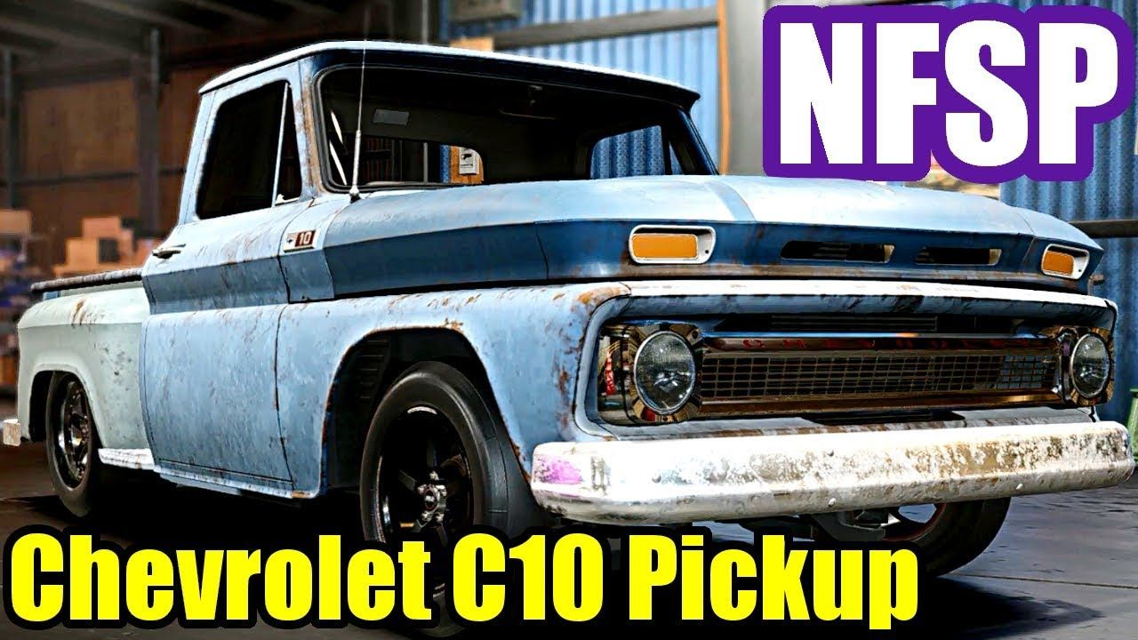 Need For Speed Payback 26 Chevrolet Pickup Derelict Parts