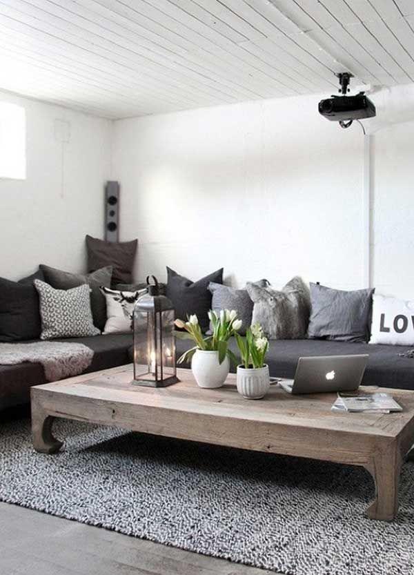 40 ideas para decorar un mesa de centro sala 2019 - Complementos decoracion salon ...