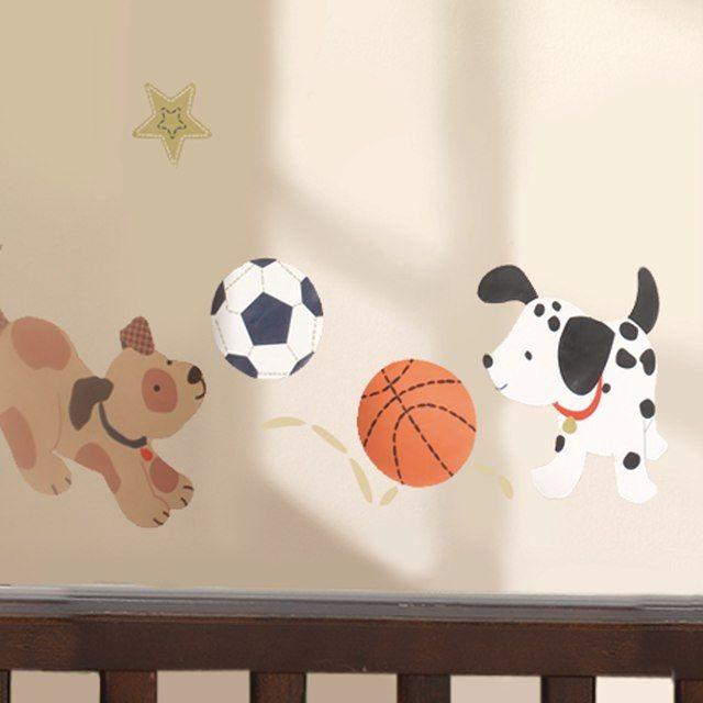 Lambs & Ivy Bow Wow Wall Appliques   Tic Tac\'s Wishlist   Pinterest ...